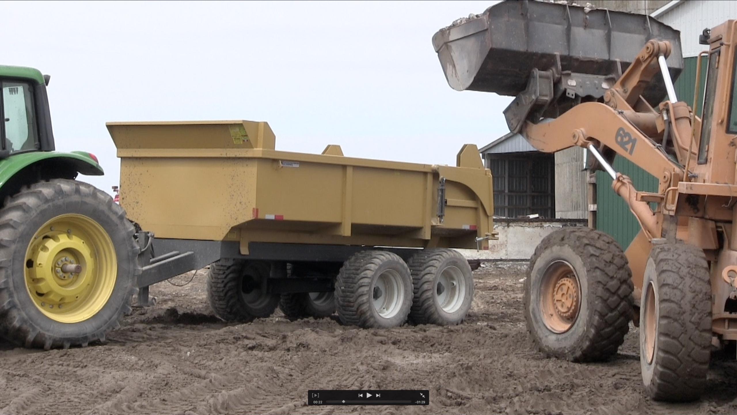 16 ton heavy duty hydraulic farm dump trailer 2018 1