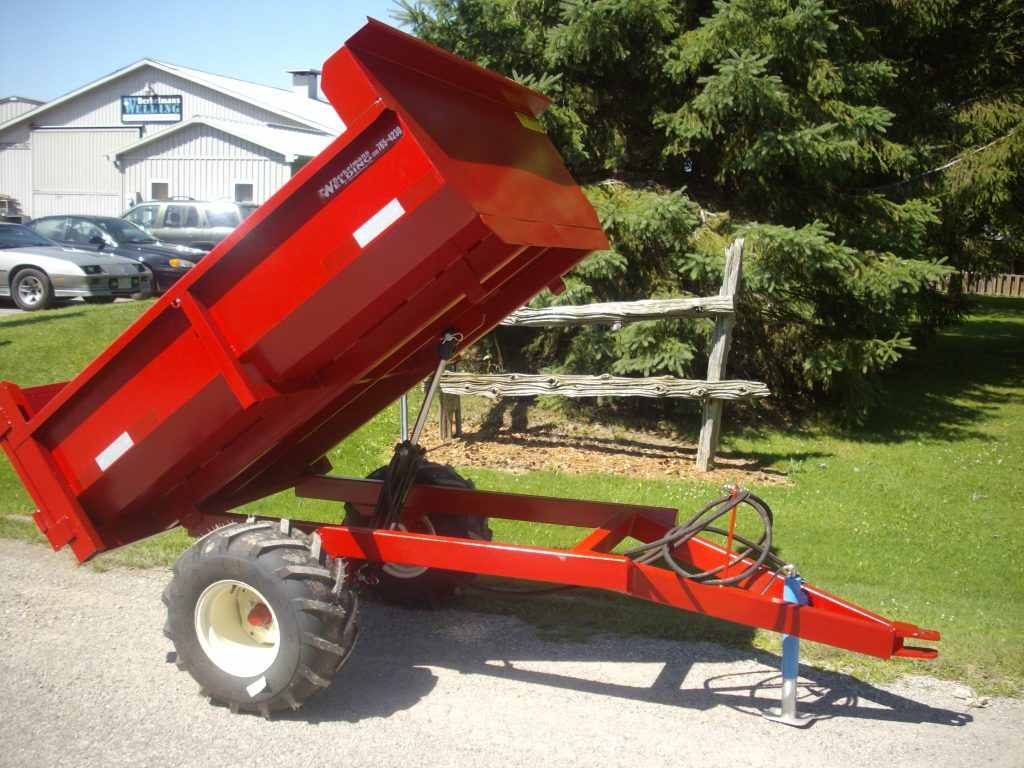 2 ton farm dump trailer