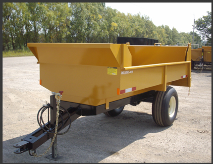 4 ton farm dump trailer