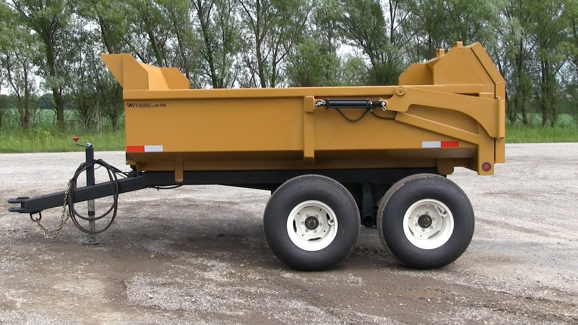 8 Ton Farm Dump Trailer
