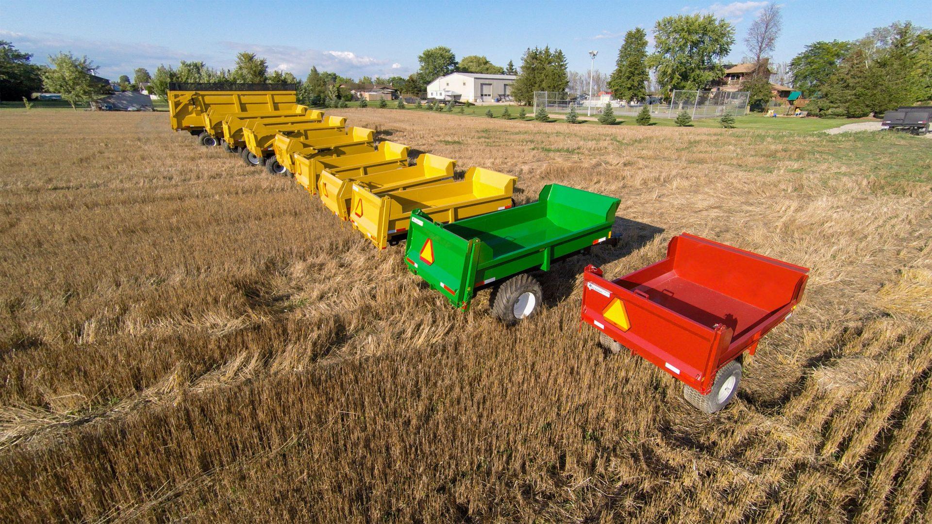Farm Dump Trailers