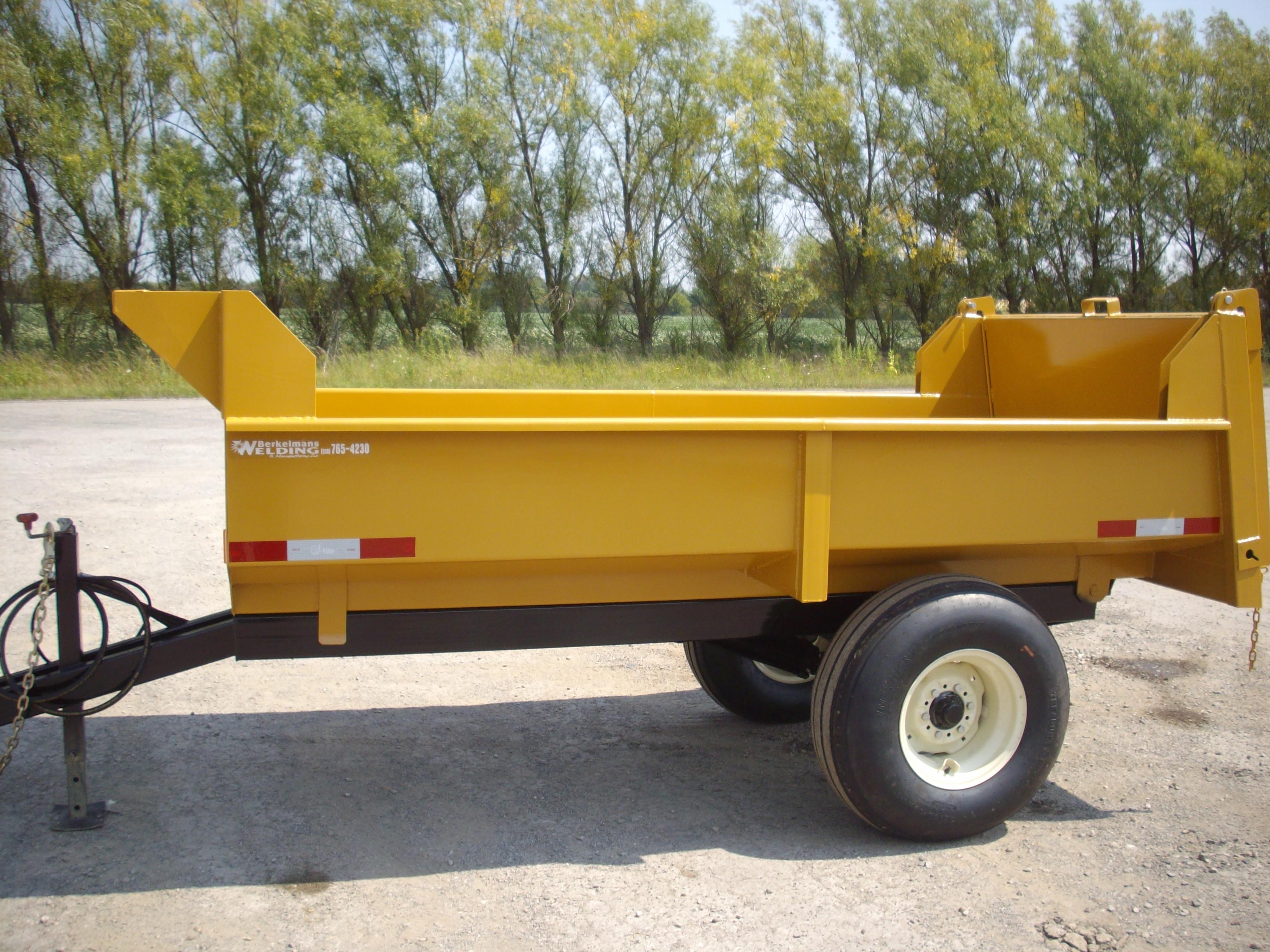 4 ton farm dump trailer