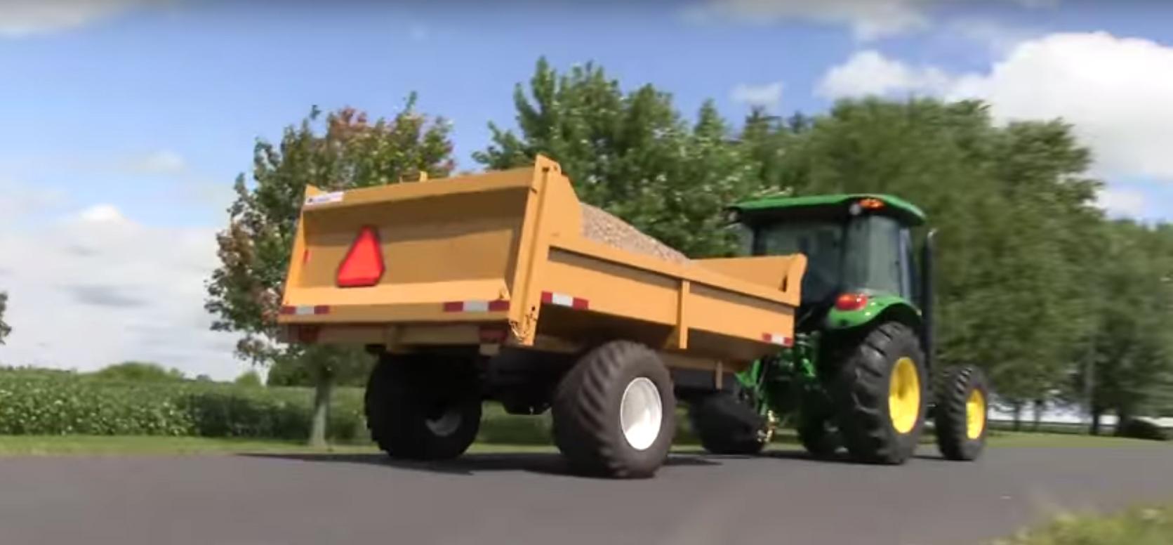 6 Ton Farm Dump Trailer