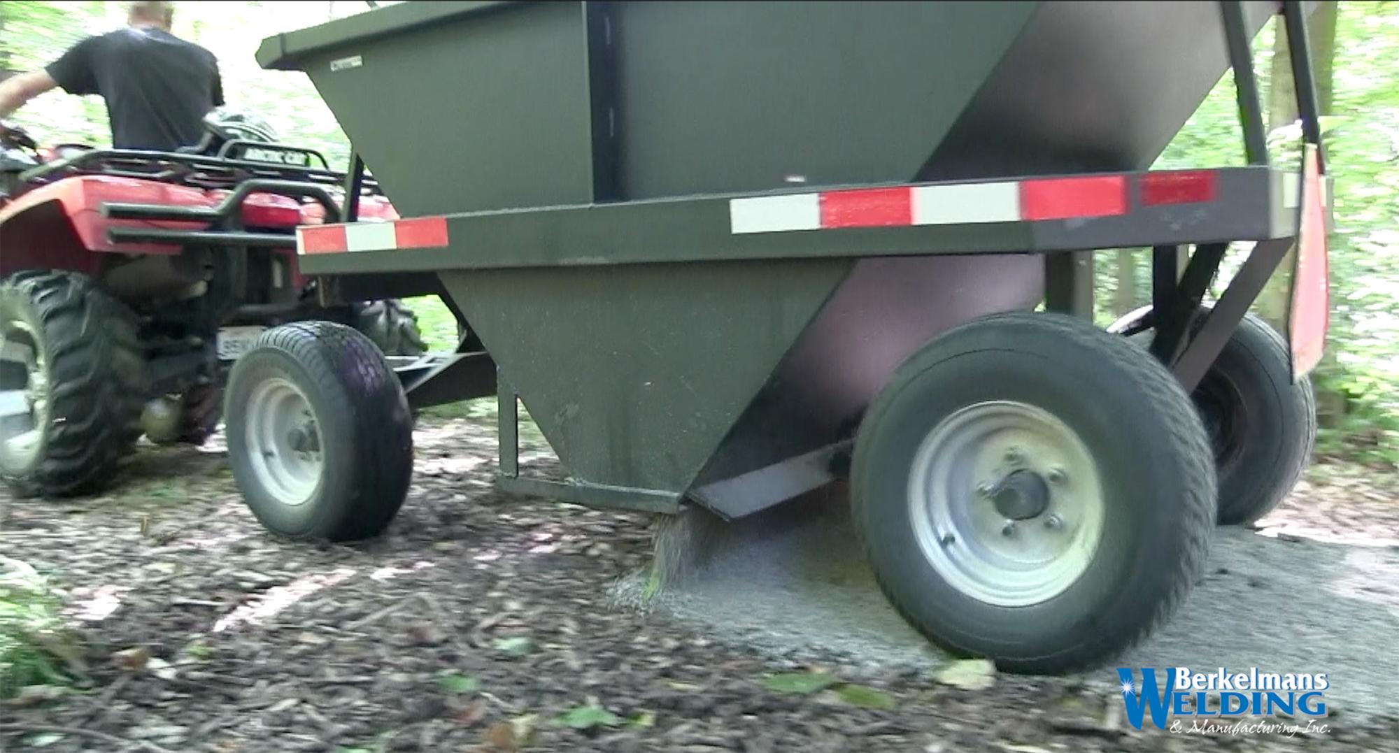 1.5 Ton Pathfinder Hopper Trailer Berkelmans Welding
